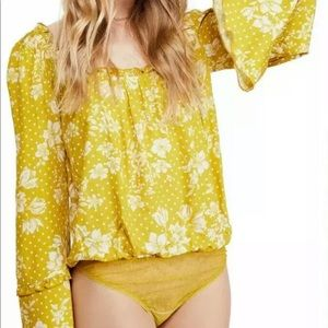 FREE PEOPLE - MariGold Body Suit (FP)